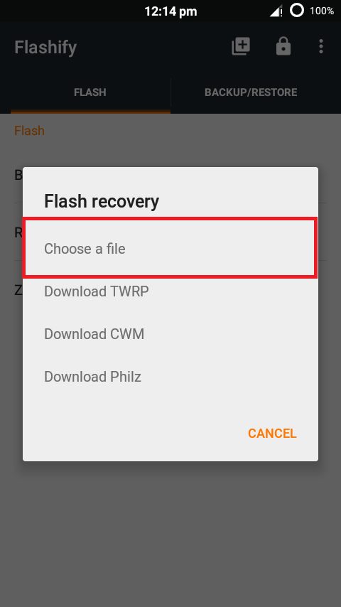 How to flash custom recovery into your android device